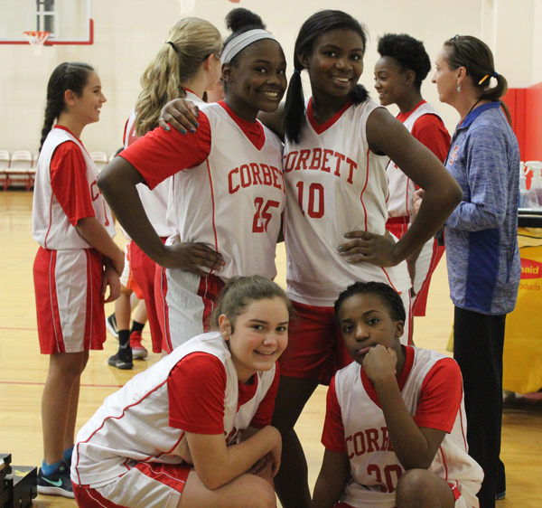 These eighth grade basketball players gave their all this season. We wish them luck if they pursue high school sports!