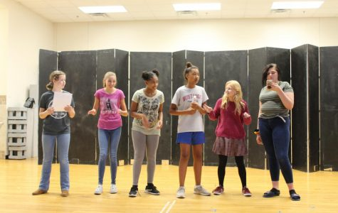 Students Prepare for Upcoming Musical