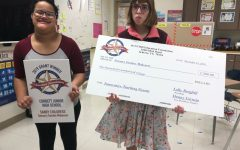 Students receive grant money to improve current Sensory Garden.